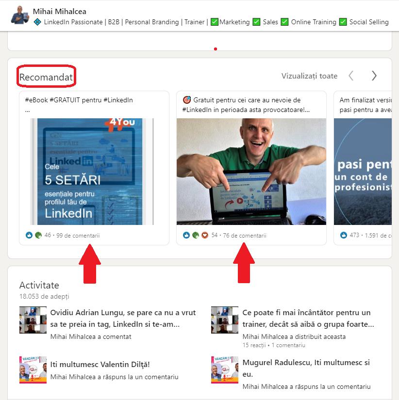 Postări Perfecte în LinkedIn!
